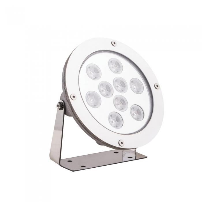 چراغ ال ای دی استخری گرد پایه دار ۹ وات مدل PSM2