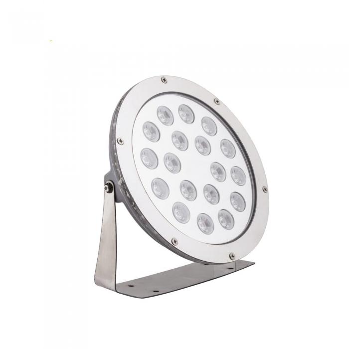 چراغ استخری ال ای دی گرد پایه دار ۱۸ وات مدل SA15