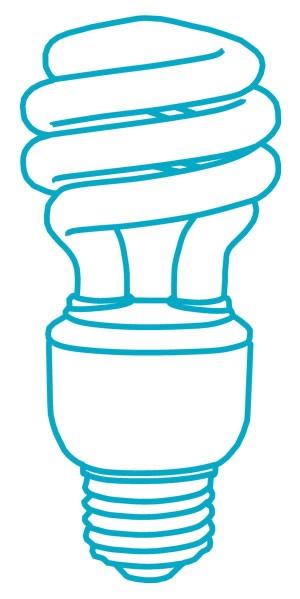 لامپ کم مصرف و فلورسنت CFL