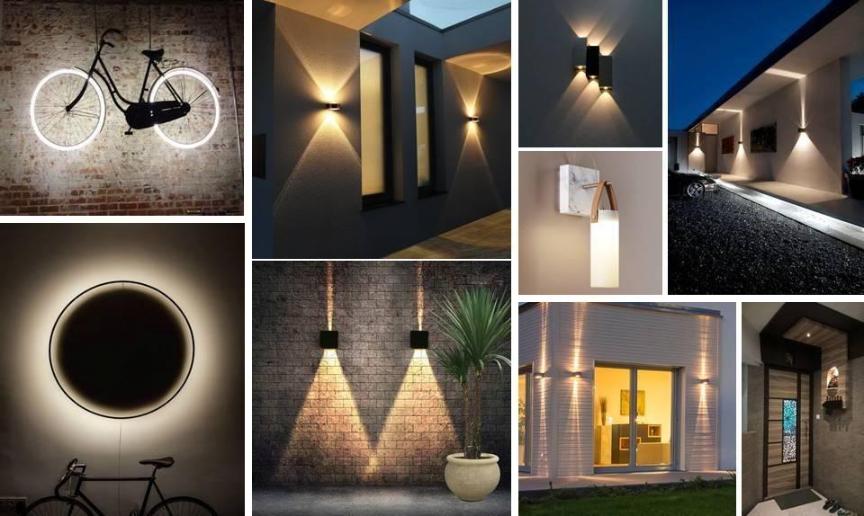 ایده برای نورپردازی دیوارها