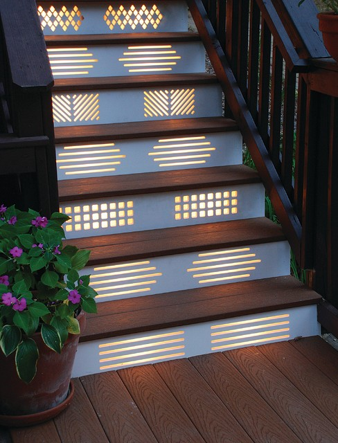 ایده های نورپردازی راه پله