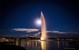 فواره و ماه