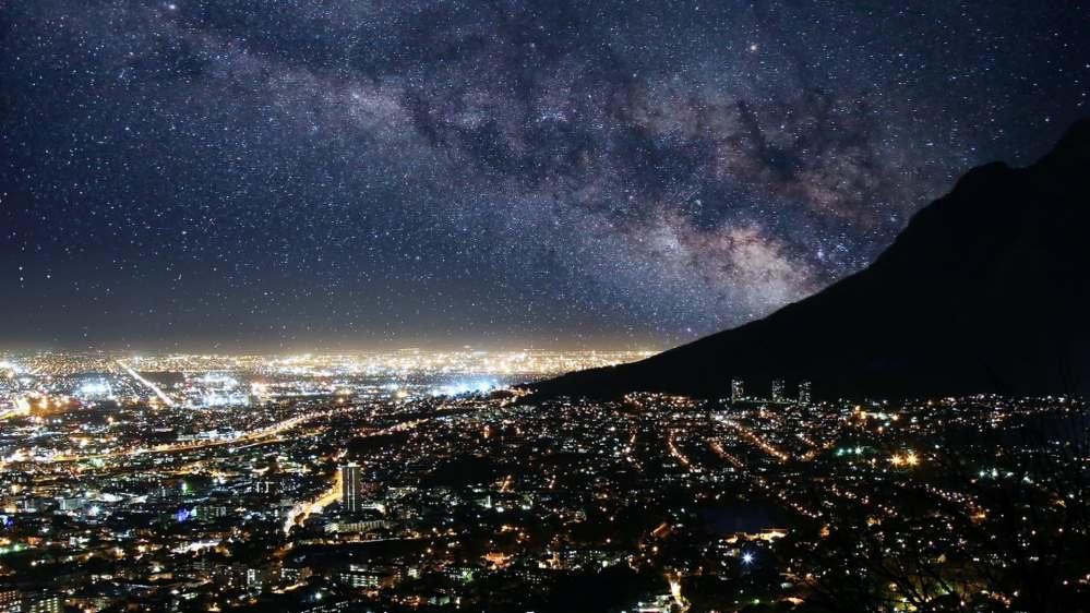 Light pollution آلودگی نوری شهری